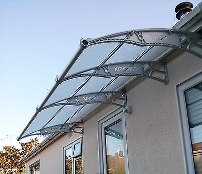 Polycarbonate DIY Canopy 1270x4000mm/Cantilever/Garden Shed/Smoking Shelter
