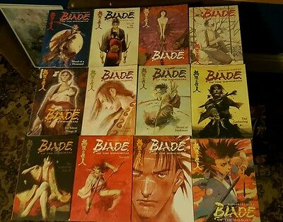 Blade of the immortal manga complete collection 1-31 plus artbook