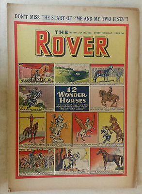 Comic- THE ROVER, NO 1386, 19th January 1952