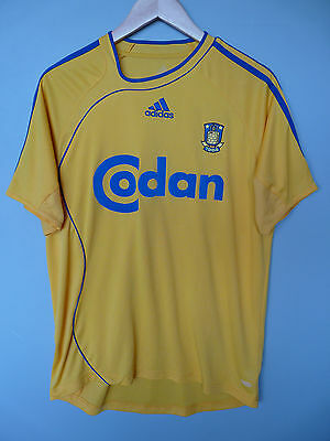 Vintage Brondby Adidas 2006 Home Football Shirt Trikot Sz Medium*