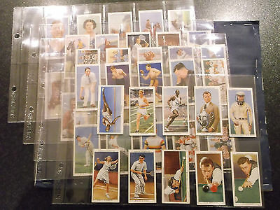 Full Set Ogdens  Sports Champions of 1936  ( Very Good )  1937