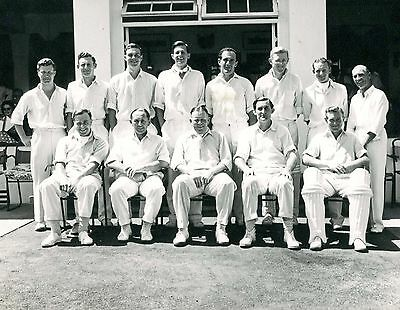 MCC in East Africa 1957/58 - Official Team Photo