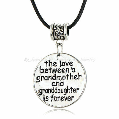 New Arrival Family Love Party Gift Necklace Heart Mother Grandmother Pendant