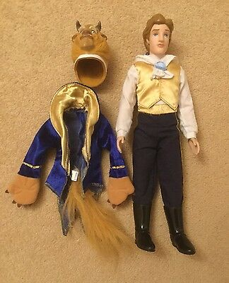 Disney official Beauty and the Beast transforming Beast/Prince doll