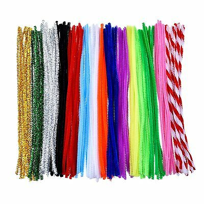 Outus Pipe Cleaners Chenille Stem Art Craft Pipe Cleaners 150 Pieces, 6 by 300