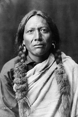 New 4x6 Native American Photo: Tull Chee Hah, North American Indian Man - 1905