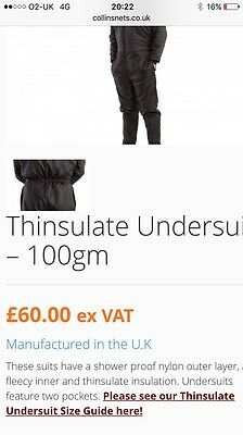 Thinsulate Thermal Undersuit All In One