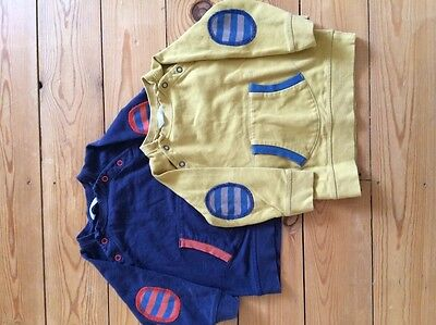 Mini Boden Boys Jumpers X 2 Age 6-12 Months