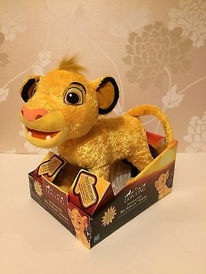 Collectible - The Lion King Talking Singing Dancing Interactive Simba Soft Toy