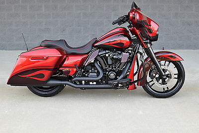 2017 Harley-Davidson Touring  2017 STREET GLIDE SPECIAL  *MINT* $16K IN XTRA'S! CANDY APPLE RED!! 1 OF A KIND!