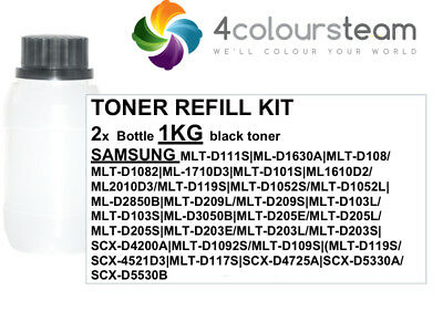 5x 100g TONER REFILL FOR HP Q2612A 12A 1010 1012 1015 1018 1020 1022 3050 3052