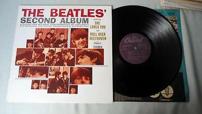 The Beatles Lp Second Album. Canada Capitol Stereo Issue St 2080 Purple Label