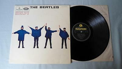 THE BEATLES LP HELP! UK PARLOPHONE MONO PMC1255 1965 1st ISSUE XEX 549-2 550-2