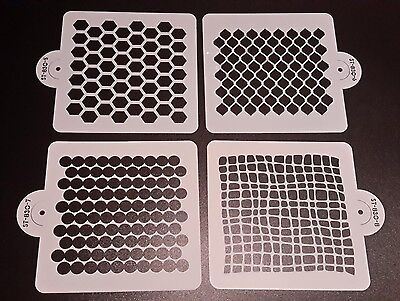 Stencils 830b Mask Template Quilting Mixed Media Cake Decorating Scrapbooking