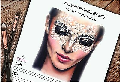 The Ultimate Makeup Face Chart & Note Recorder Book!Your Makeup Book Bridal