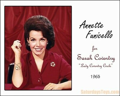 1965 Annette Funicello BROOCH / PIN Walt Disney Monkey's Uncle / Sarah Coventry