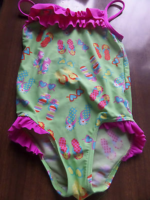Girls One Piece Swimming Costume Age 3 - 4 Height 98 - 104 Cm From George