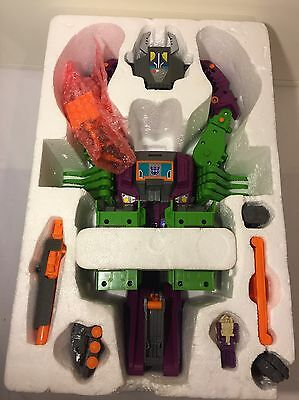 Transformers G1 Scorponok Headmaster Base 100% Komplett Mit Box❗Ultra Rare❗