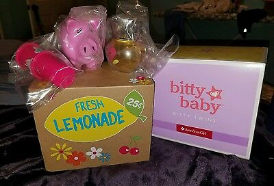 American Girl Bitty Baby Bitty Twins - Lemonade Stand Set - New in Box