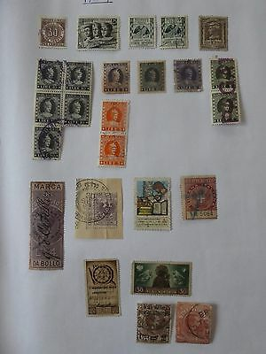 Italy collection of 25 stamps