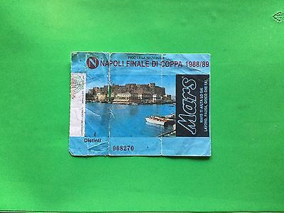 Ticket Napoli - Stuttgart 1988/1989 Final Uefa Cup 1989