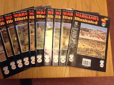 Wargames Illustrated, issues 103 to 112