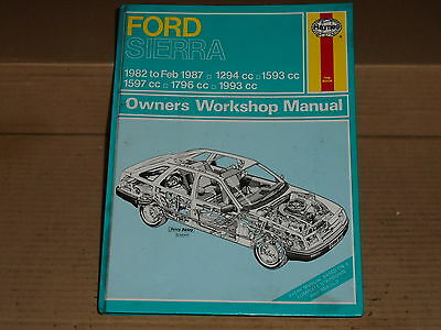 Ford Sierra Haynes Manual 903