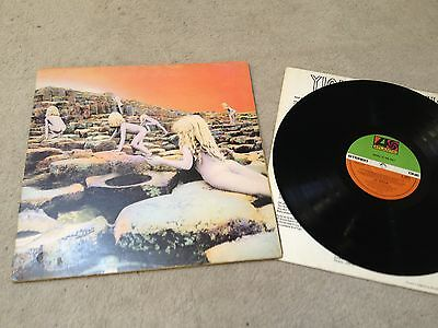 Led Zeppelin Houses of the Holy 1st UK press A2/B2 Superhype record LP vinyl