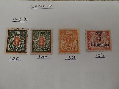 Denmark collection of 178 stamps - see all scans