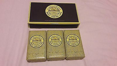 Crabtree & Evelyn Men's West Indian Lime Soap Gift Set 3 x 150g