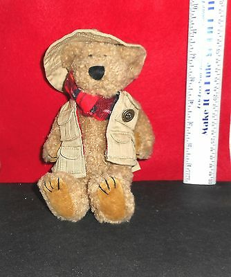 Boyds Bears  Bearwear   [  Tholyer  ]   Bean  Bag  Stuff   With Tag