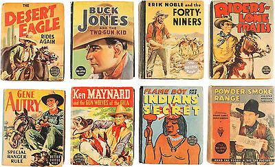 Big Little Book Western-Themed Group of 8 (Whitman, 1934-38).... (Total: 8)