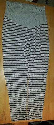 Grey  Maternity Trousers  H&m Size L Approx 14