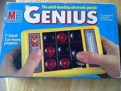 Genius MB Electronics Game Boxed With Instructions