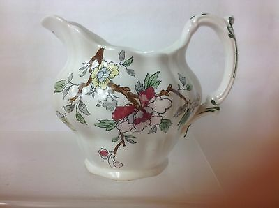 ��c.1912-1929 VINTAGE BOOTHS CHINESE TREE SILICON CHINA  MILK JUG