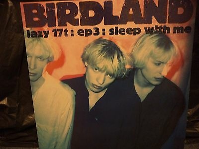 """birdland, sleep with me 12"""" 1990 a1 b1 lazy records excellent+ condition."""
