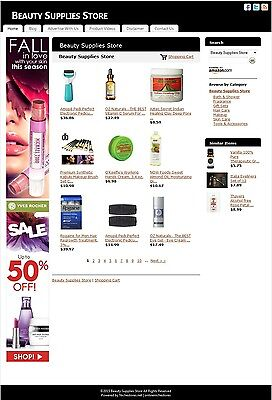 Beauty Supplies Store -Established Affiliate Website Business