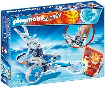 Playmobil 6832 | Playmobil Action Frosty mit Disc-Shooter | Spielzeug ab 5 Jahre