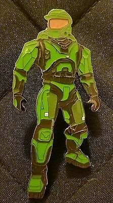Little League Pin: Halo Master Chief Pin ( 3 Inch ) Ca16
