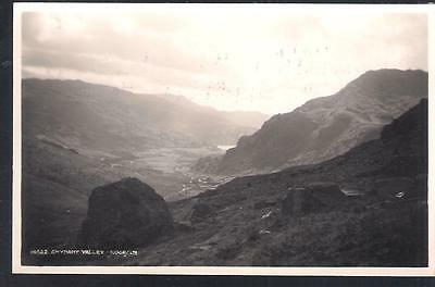 GWYNANT VALLEY Wales postcard RP - from Judges reference set 14622