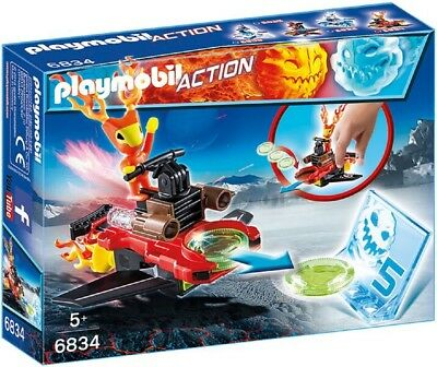 Playmobil 6834 | Playmobil Action Sparky mit Disc-Shooter | Spielzeug ab 5 Jahre