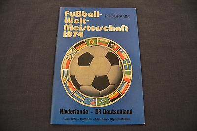 1974 World Cup Final Programme Netherlands v West Germany EXC. CONDITION!!!