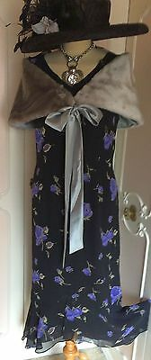 New + Tags JACQUES VERT Evening DRESS & WRAP Suit Mother of the Bride Size 16