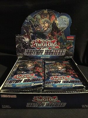 Yugioh - Destiny Soldiers Booster Pack