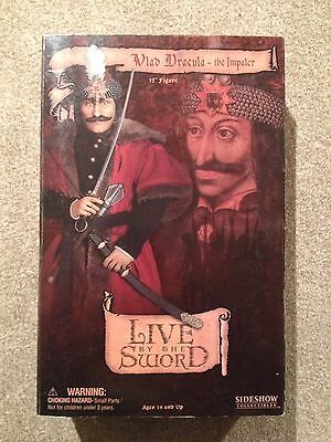 """Vlad Dracula - The Impaler. 12"""" Figure. Sideshow Collectibles"""