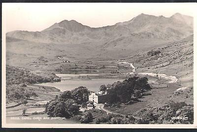 Capel Curig and Snowdon view Wales postcard RP - from Judges reference set 22108