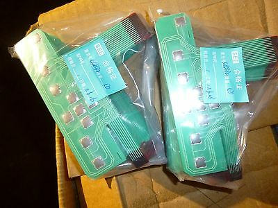 Lot of 1000 Membrane keypads 10 push buttons arduino diy