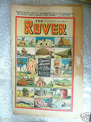 THE ROVER Comic, No.1234, 12th Feb 1949