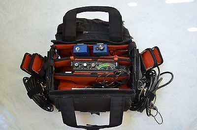 Sound Devices 302 Mixer with Snake, Petrol Bag Anton Bauer & More COMPLETE KIT!!