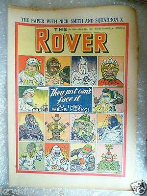 THE ROVER Comic, No.1348, 28th April 1951 - They Just Can't Face it